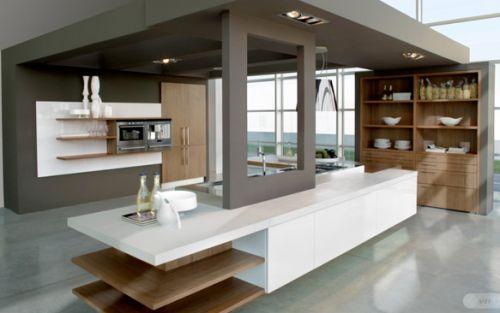 Lavish contemporary kitchen designs and interiors for for Lavish kitchen designs
