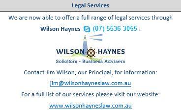 Wilson Haynes Law Firm http://www.wilsonhayneslaw.com.au/
