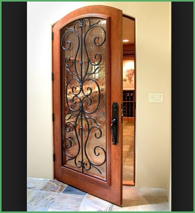 14 best Wrought Iron front doors images on Pinterest ...