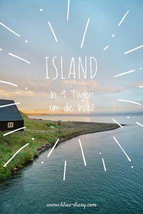 Island Rundreise – 9 Tagen mit dem Auto um die Insel