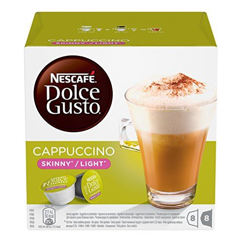 Nescafs Dolce Gusto Skinny Cappuccino 16 Capsules 8 Servings Pack Of 3 Total 48 Capsules 24 Servings F Dolce Gusto Best Juicer Machine Best Juicer