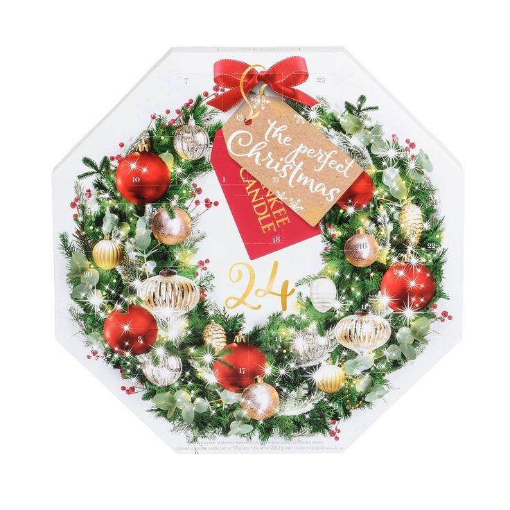 Advent Wreath Gift Set, Wax, Multi Colour, 36.8 X 36.5 X 4.3 Cm Yankee Candle