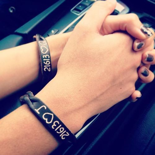 matching couple bracelets tumblr - Google Search