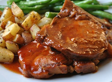 how to make bbq pork chops in the crock pot