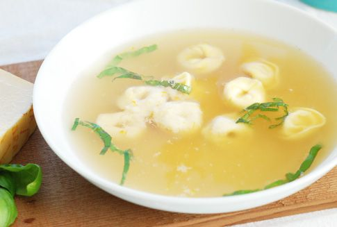 Tortellini en Brodo | sous vide or not sous vide... What a silly que ...