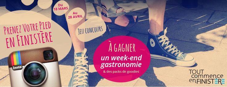 ADT29 : Jeu-concours Prenez votre pied en Finistère