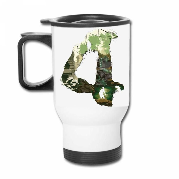 Design by (BlackActurus) Description Transfer colorful inkjet sublimation to this stainless steel travel mug. Features a 14oz. capacity and easy-grip handle with thumb rest. Tapered bottom fits in sta