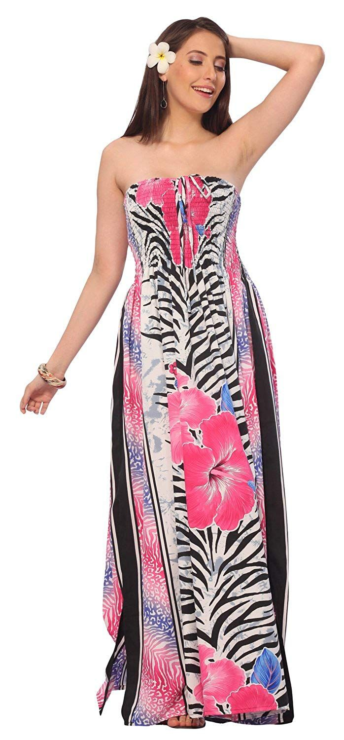 b3d27f6105 Party Sundress Halter Boho Evening Maxi Skirt Beach Backless Swimsuit Tube  Dress ** More info could be found at the image url. (This is an affiliate  link) # ...