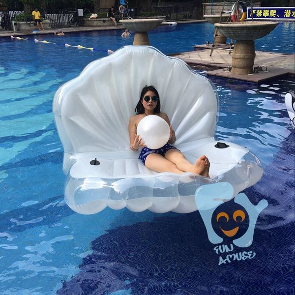 Cheap Air Mattresses, Buy Directly from China Suppliers: New Design 2016 Summer Water Fun 173cm Inflatable Seashell Pool Floats Giant Inflatable Clamshell with Pearl Stage Shel