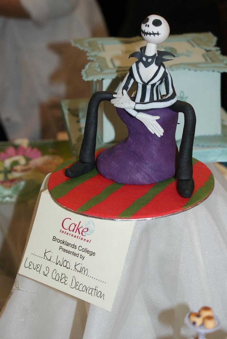 Cake International - London 2013 Jack Skeleton - Nightmare Before Christmas cake by Ki Woo Kim (Brooklands College)