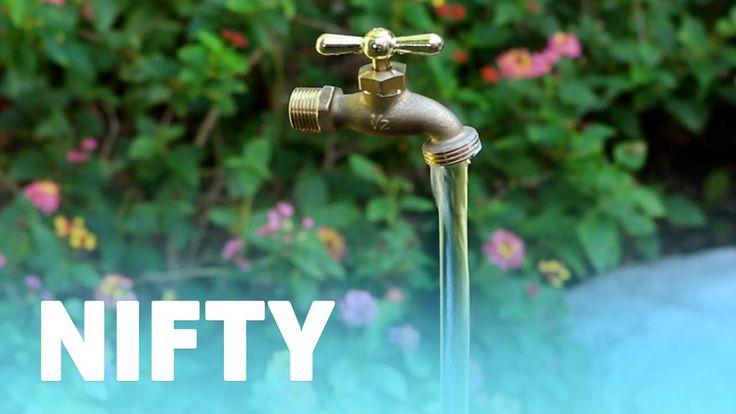 Magic Faucet Fountain Youtube Diy Garden Fountains Diy Fountain Small Fountains