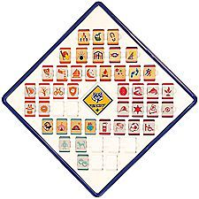As you advance through Cub Scouts, use this new display to showoff your favorite loops by rank or store and protect them when not being worn. Revised to accommodate the new Cub Scout Adventure loops, this display securely stores 48 loops.