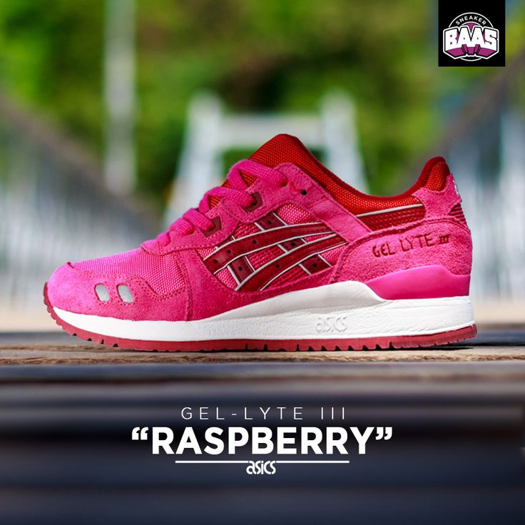 "Asics Gel-Lyte III ""Raspberry"" | Now online! | http://www.sneakerbaas.nl/sneakers/asics-gel-lyte-iii-raspberry.html | #ASICS #RASPBERRY #SNEAKERS #SNEAKERBAAS"