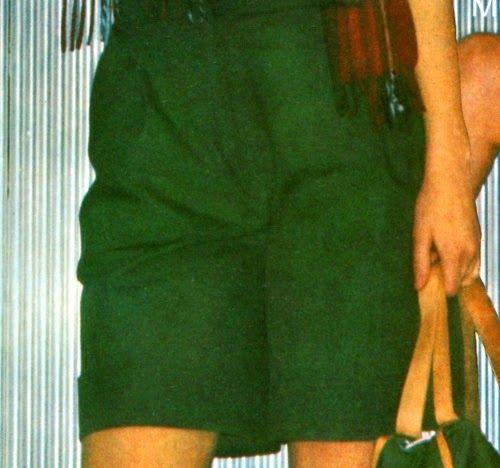 Cucire pantaloni bermuda larghi