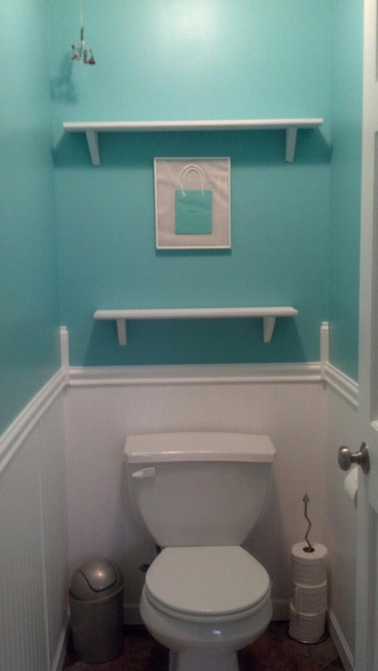 Tiffany blue bathroom designs - To Further My Obsession With Tiffany I Now Have A Tiffany Inspired Bathroom