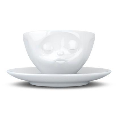 Tassen Espresso Cup, Kissing, White - Kitchenique