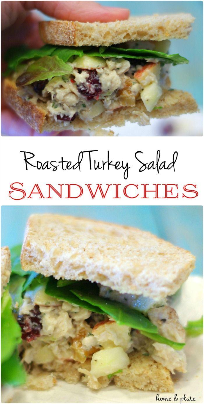 1000 ideas about turkey salad on pinterest turkey for Leftover shredded turkey sandwiches