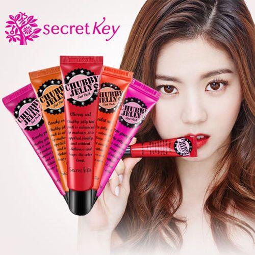 [Secretkey HQ] Chubby Jelly Tint Pack_15g/Lip Tatoo/Long lasting/etude/innisfree #Secretkey