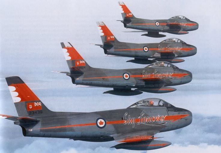 RCAF Canadair CL-13B Saber