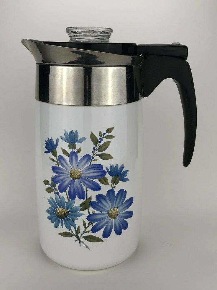 Corning Ware Electric 10 cup Percolator Coffee Pot Spice