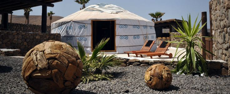 Eco Yurt en Lanzarote Retreats.                                                                                                                                                                                 Más