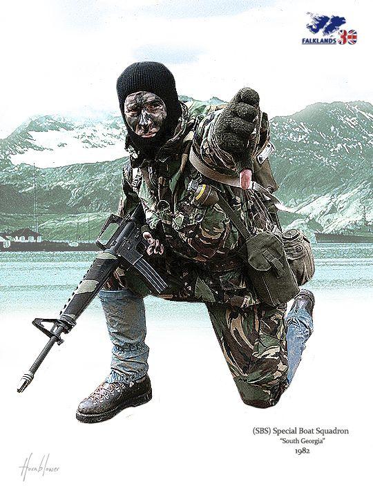 SBS Falklandinseln 1982