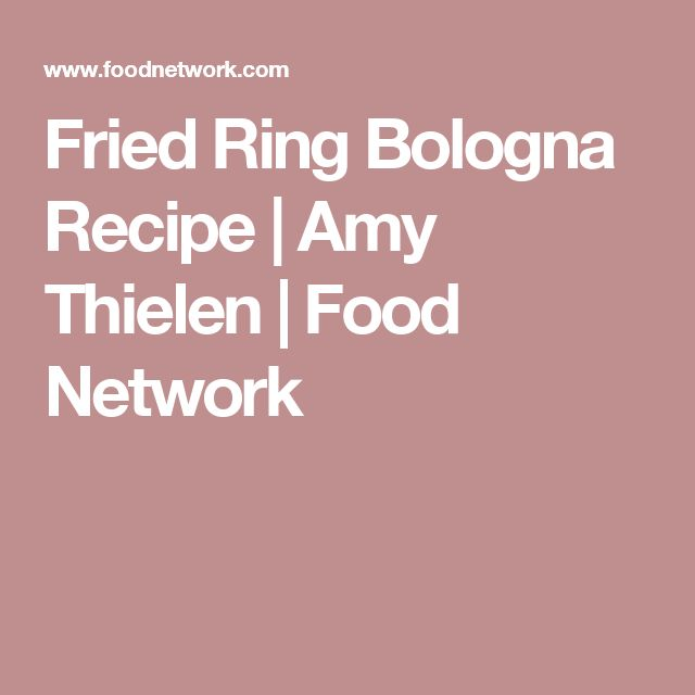 Fried Ring Bologna Recipe | Amy Thielen | Food Network