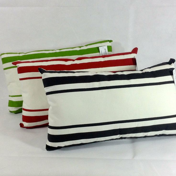 Poppy Cypress - Stripe Cushions - Multiple Colours #handmade #cushions #home #gifts