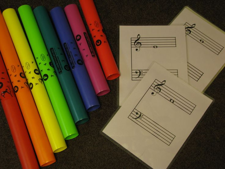 boomwhacker flashcards game