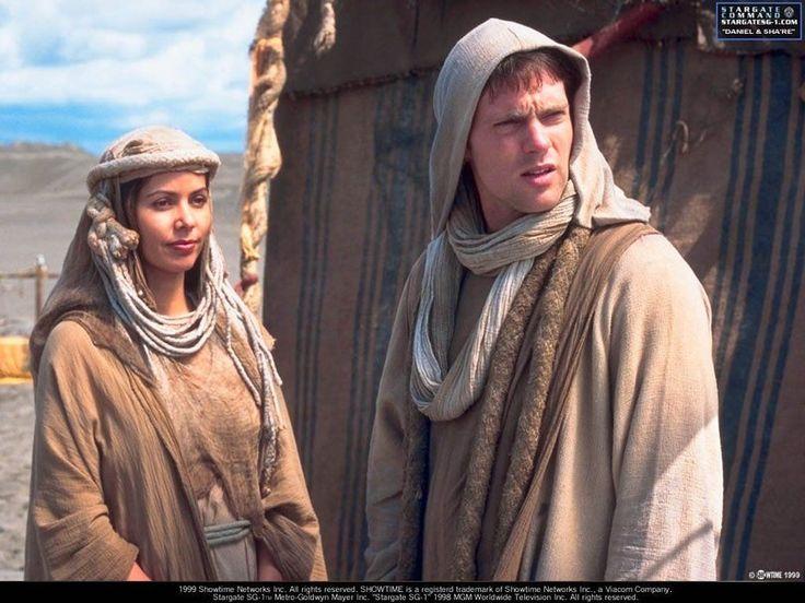 Stargate SG 1 Daniel and Sha're