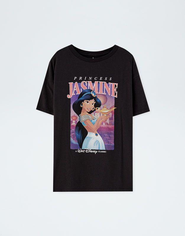 6ec955e2 Aladdin Princess Jasmine T-shirt in 2019   Things to wear   Aladdin ...