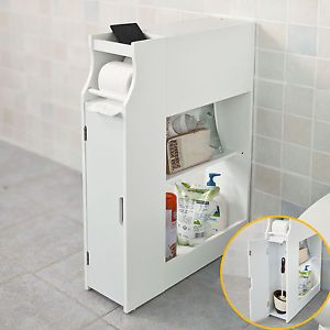 Les 25 meilleures id es concernant armoire wc sur for Rangement papier toilette blanc