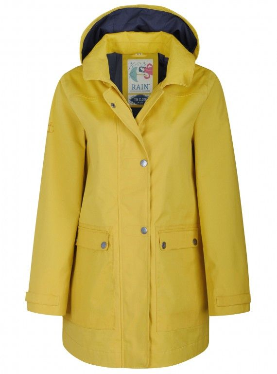 Seasalt Cornwall Mustard Coat, £130