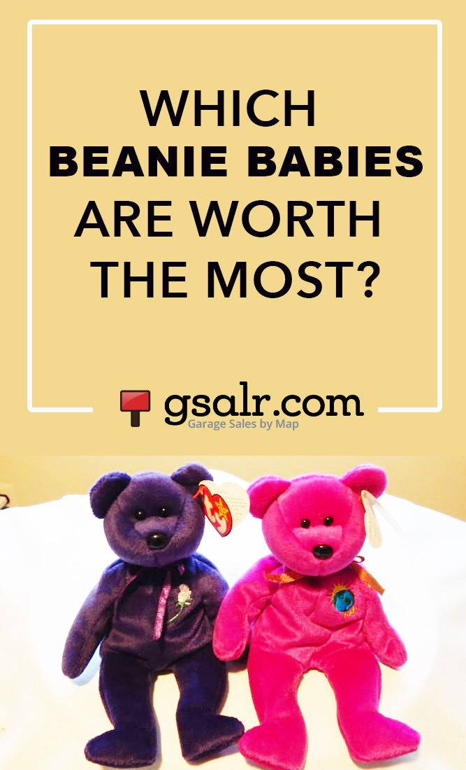 Very interesting article! I always thought the Princess Diana Beanie Babies were worth the most, now I'll have to start looking for the ones that are really valuable!