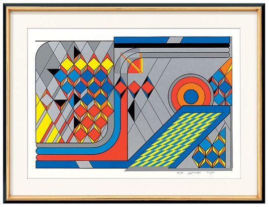 """Otto Herbert Hajek: """"76/18"""" (1976) http://www.kunsthaus-artes.de/de/014380.00/Bild-76-18-1976/014380.00.html#cgid=t_geometrie&start=3"""