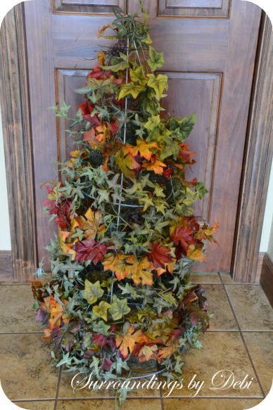 Put Deco Mesh In Christmas Tree