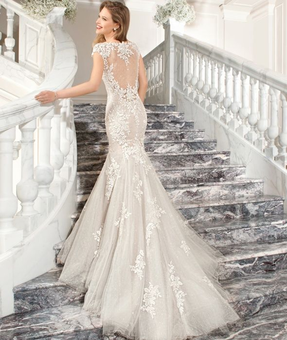 17 Best images about Demetrios Gowns on Pinterest | Illusion ...