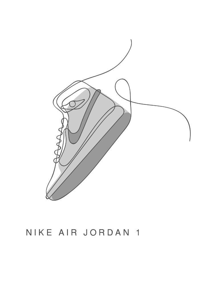 Drawing Jordans : drawing, jordans, Jordan, Drawings