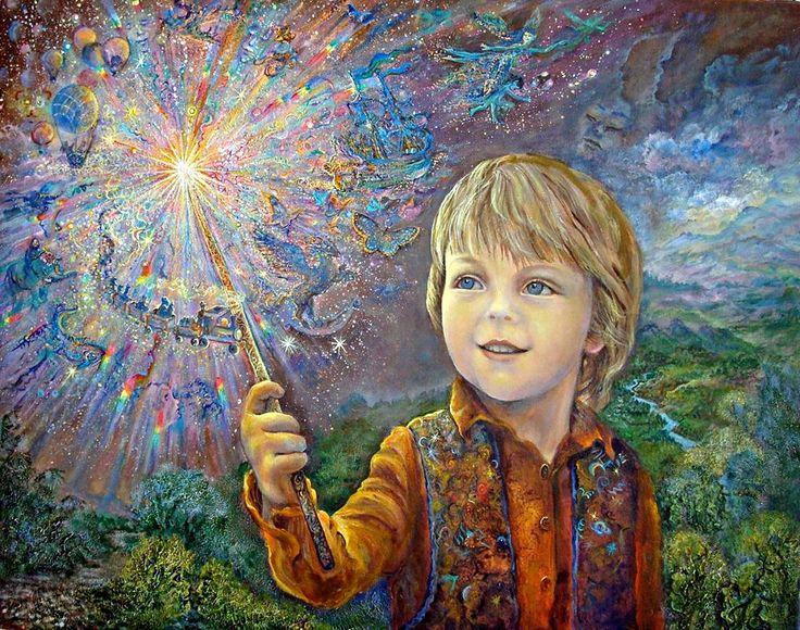 Пазл Юный волшебник — собрать пазл онлайн