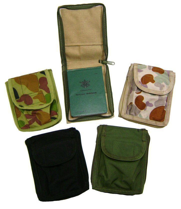 Defence Gifts - ZIPPED NOTEBOOK / VEWEE TEWEE COVER AUSCAM only, $17.95 (http://www.defencegifts.com.au/zipped-notebook-vewee-tewee-cover-auscam-only/?tab=ProductReviews/)
