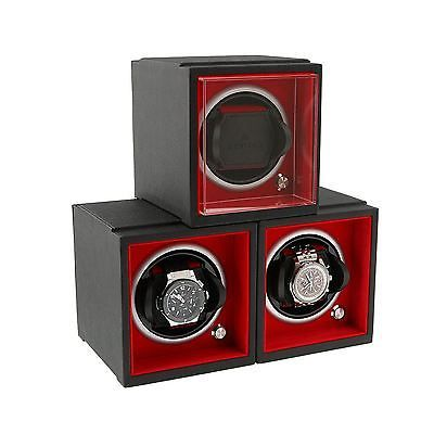 Modular Watch Winder System by Aevitas - Larger Watch Version - Set of 3 *    * About Us  * Payment  * Delivery  * Returns  * Contact Us  Show Menu * Watch Boxes  * Watch Winders  * Jewellery Boxes  * Stackers  * Gifts For Him  * Gifts For Her  * Other Items   *   *   *   *    *   *   *   *   MODULAR WATCH WINDER SYSTEM BY AEVITAS - LARGER WATCH VERSION - SET OF 3 Product Details:  The Best Watch Winder Available Today! JUST add a Note to the Order of which colour / colours you would like…