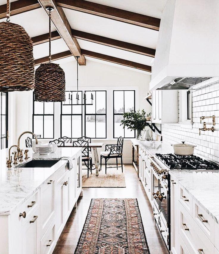 Dream Kitchen #allwhite #kitchen #kitchendesign #k…