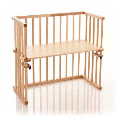 The BabyBay Midi has a unique square design and attaches directly to your bed frame to provide safe stable co-sleeping throughout the night, at BabyMonitorsDirect