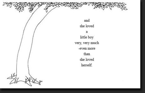 Tattoo I want for my boys. A quote from The Giving Tree by Shel Silverstein.