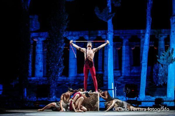 Ballerini al Fashion in Paestum 2013 - Ufficio stampa Michel Miglionico