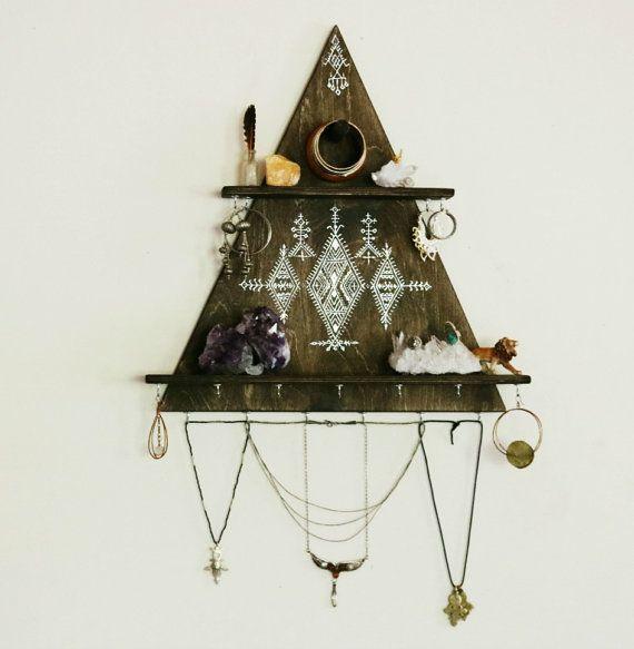 jewelry+rack+jewelry+hanger+jewelry+hooks+necklace+by+OurFolkLife