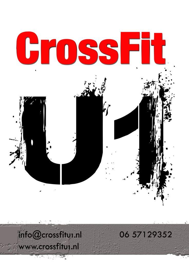CrossFit U1 Door Sticker by Lynda Jayne https://www.facebook.com/pages/Lynda-Jayne-Designs/128704893891601