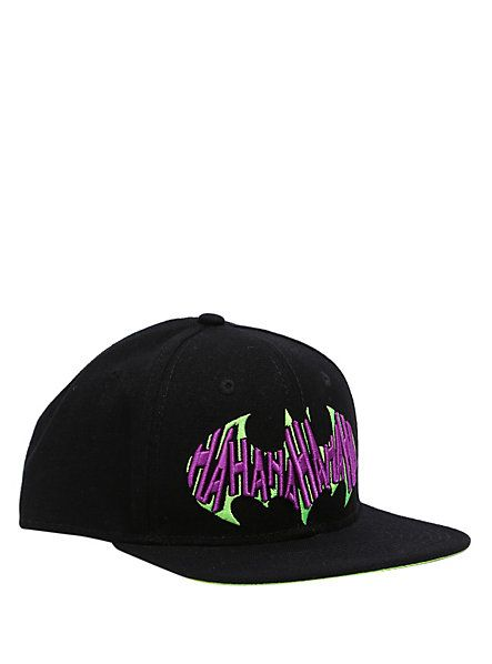 Dc Comics Batman The Joker Hahaha Snapback Ball Cap Hot
