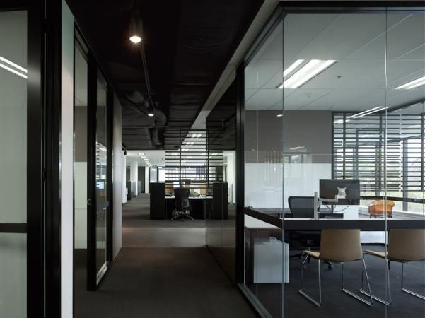 Bates Smart of Australia lead the design of the new Conneq office space. A  little from their description: Conneq's new offices were designed around a  new ...