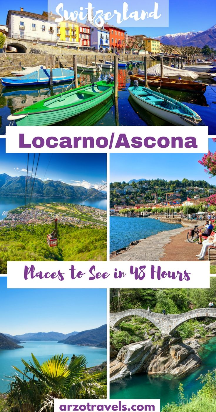 Top places to visit in Locarno / Ascona, the Italian part of Switzerland (Ticino, Lago Maggiore)